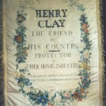 1844 presidential campaign banner carried in parades and rallies in support of Henry Clay