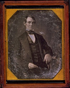 This, the earliest known image of Abraham Lincoln, was taken around 1847 and is from the collection of the Library of Congress.